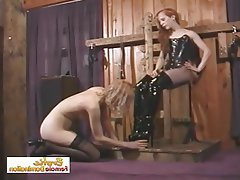 BDSM, Bondage, Lesbian, Small Tits
