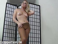 BDSM, Femdom, POV, Stockings