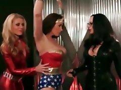BDSM, Bondage, Lesbian, Stockings