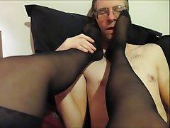 Stockings, Femdom, British, Foot Fetish
