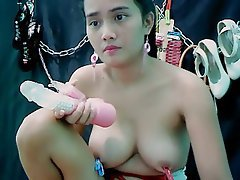Asian, Big Boobs, Nipples