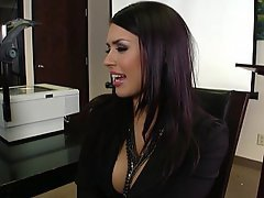 Office, Brunette, Big Tits, Hardcore
