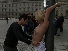 BDSM, Blonde, Public, BDSM