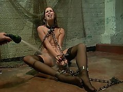BDSM, Brunette, Black, Submissive