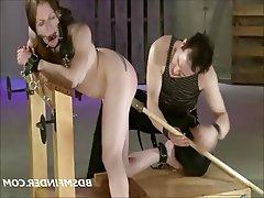 BDSM, Bondage, Hardcore, Redhead, Spanking