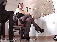 BDSM, Foot Fetish, German, Pantyhose
