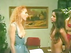BDSM, Femdom, Lesbian, Redhead, Small Tits